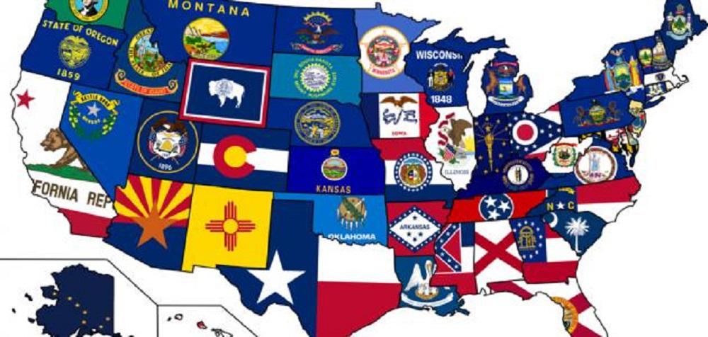 اسماء الولايات الامريكية حسب الترتيب الهجائي وأهم المعلومات عن أهمها